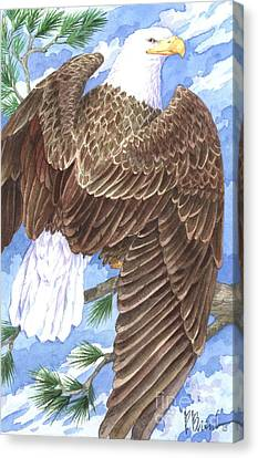 American Eagle Canvas Print by Paul Brent