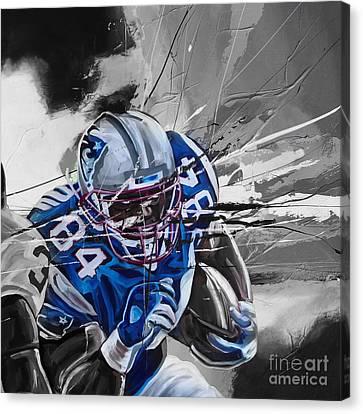 American Football 6710k Canvas Print