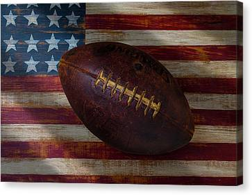 American Football Canvas Print by Garry Gay