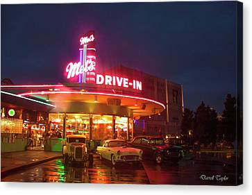 American Graffiti Pic 33 Canvas Print by Darrell Taylor