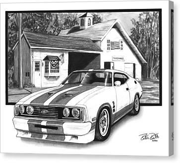 American Heartland Canvas Print