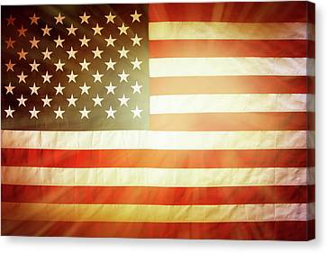 American Hope Canvas Print by Les Cunliffe