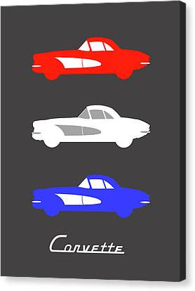 American Icon - Corvette Canvas Print by Mark Rogan