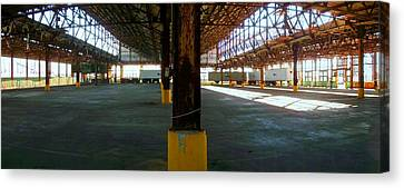 Ford Plant Canvas Print - American Industry by Edmund Akers