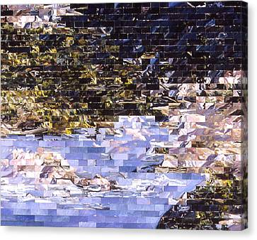American Landscape After Meg Canvas Print by Karl Frey