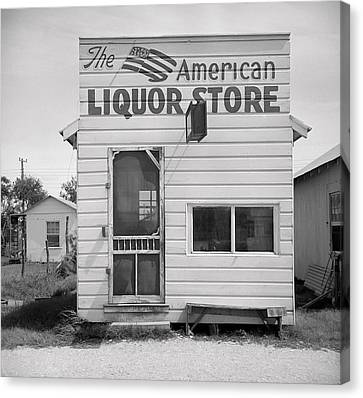 American Liquor - Texas 1943 Canvas Print