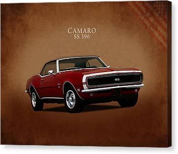 Camaro Canvas Print - American Muscle by Mark Rogan