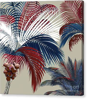 American Palm Canvas Print by Mindy Sommers