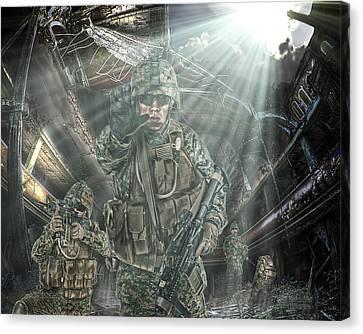 American Patriots Canvas Print by Mark Allen