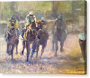 American Pharoah Canvas Print