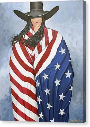 American Pride 1 Canvas Print by Lance Headlee