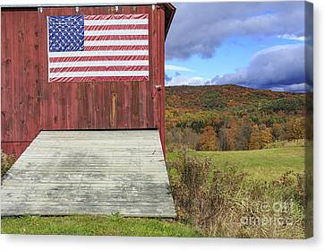 Patriotism Canvas Print - American Pride by Edward Fielding