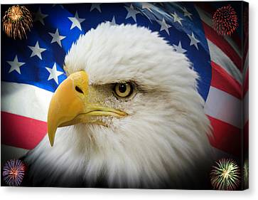 American Pride Canvas Print by Shane Bechler