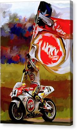 American Revolution I Kevin Schwantz Canvas Print by Iconic Images Art Gallery David Pucciarelli