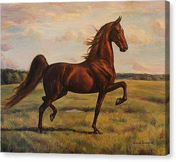 American Saddlebred Canvas Print