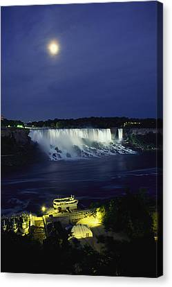 American Side Of Niagara Falls, Seen Canvas Print by Richard Nowitz
