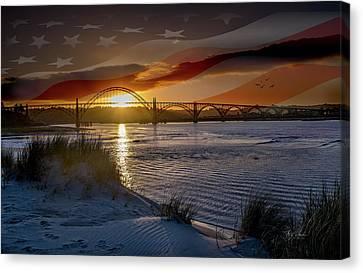 American Skies Canvas Print