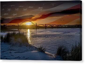American Skies Canvas Print