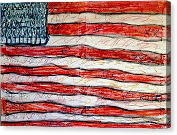 American Social Canvas Print