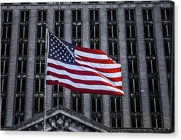 American The Beautiful  Canvas Print