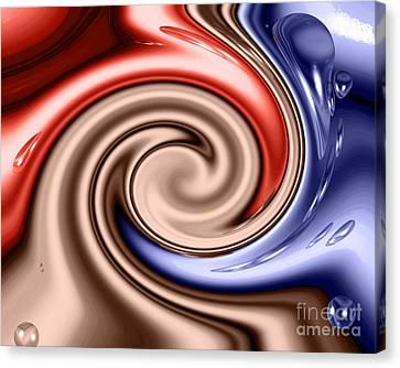 American Turmoil Canvas Print