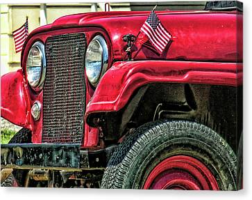 American Willys Canvas Print by Adam Vance