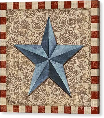 Americana Barn Star II Canvas Print