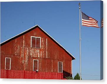 Americana Canvas Print by Robert Babler