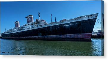 America's Flag Ship Canvas Print by Marvin Spates