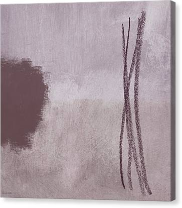 Amethyst 2- Abstract Art By Linda Woods Canvas Print
