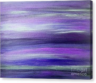 Amethyst Mirage  Canvas Print by Rachel Hannah