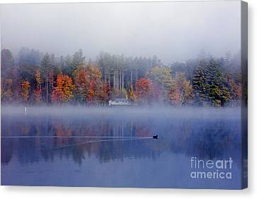 Amherst Lake Vt Canvas Print