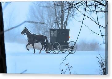 Amish Dreamscape Canvas Print