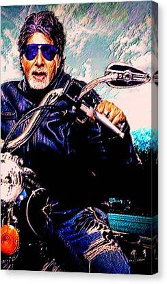 Amitabh Bachchan - Living Legend Canvas Print