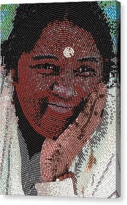 Amma - Close Up Canvas Print
