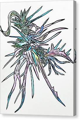 Amoeba  Canvas Print by Tory  Tunes