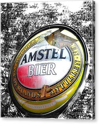 Amstel Bier  Canvas Print by Steven Digman