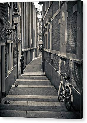 Amsterdam Canvas Print by Adam Romanowicz