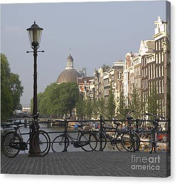 Amsterdam Bridge Canvas Print by Andy Smy