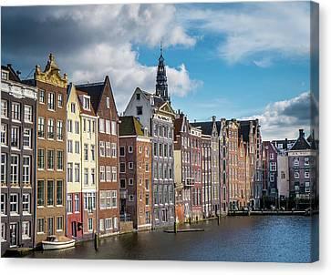 Amsterdam Buildings Canvas Print