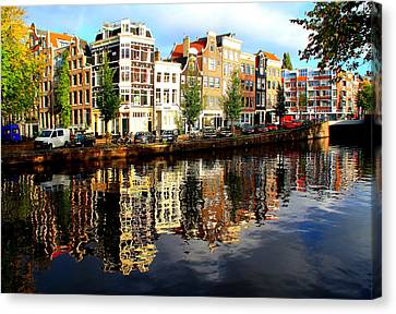 Amsterdam By Day Canvas Print
