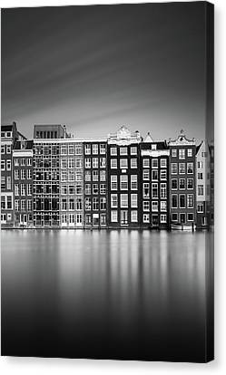 Amsterdam, Damrak I Canvas Print by Ivo Kerssemakers