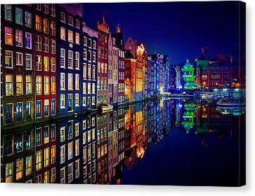 Amsterdam Canvas Print by Juan Pablo Demiguel
