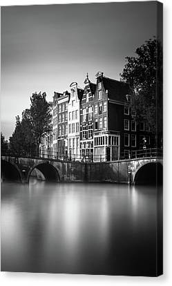 Amsterdam, Keizersgracht Canvas Print by Ivo Kerssemakers