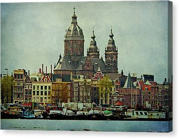 Amsterdam Skyline Canvas Print
