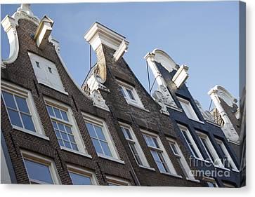 Amsterdam Canvas Print by Wilko Van de Kamp