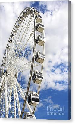 Amusement Wheel Canvas Print