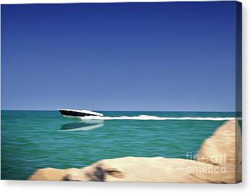 Amusing Speed Canvas Print by Alessandro Giorgi Art Photography