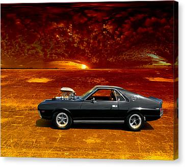 Amx Road Warrior Canvas Print by Michael Cleere