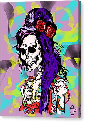 Amy Canvas Print by Andre Peraza